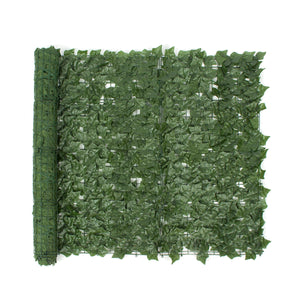 1*3m Artificial Ivy Leaf Fence Green Garden Yard Privacy Screen Hedge Plants Decorations