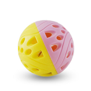 Tinkle Bell Ball Pet Toy Plastic Dog Cat Playing Ball Funny Toys Pet Products Pet Toys
