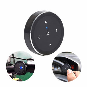 Wireless Bluetooth Remote Key Control Phone Car Steering Wheel Motorcycle Handlebar Remote Controller Media Button For IOS Android iPhone X XS HUAWEI P30 XIAOMI S10 S10+