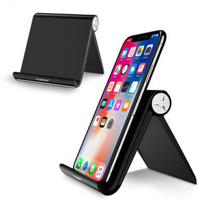 Floveme Universal Foldable Adjustable Non-slip Portable Phone Holder for iPhone Tablet Xiaomi
