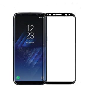 NILLKIN 3D Arc Edge 9H MAX Full Coverage AGC Glass Screen Protector for Samsung Galaxy S8 5.8""