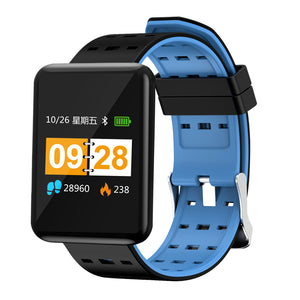 XANES® J20 1.44'' IPS Color Screen IP67 Waterproof Smart Watch Heart Rate Monitor Motion Data Tracking Fitness Bracelet