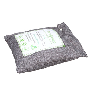 Natural Bamboo Charcoal Air Purifier Bag With Hook