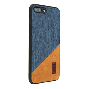 Bakeey Canvas Shockproof Fingerprint Resistant Protective Case For iPhone 7 Plus/iPhone 8 Plus