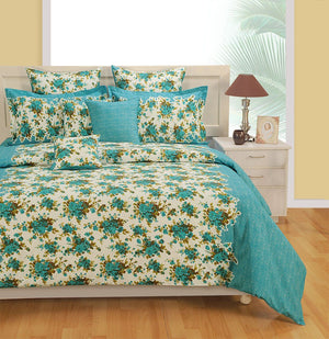 Canopus Floral Duvet Cover Bedding Set - Flickdeal.co.nz