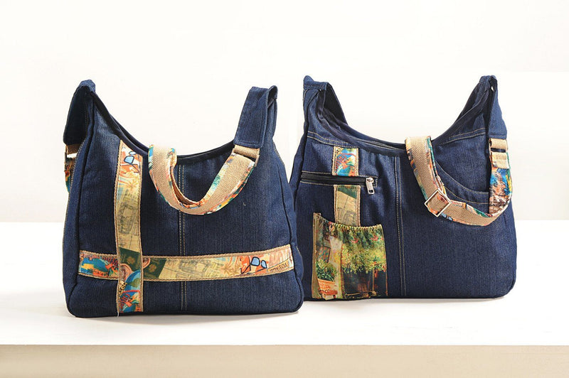 Denim Handbag - BCOLL1 - Flickdeal.co.nz