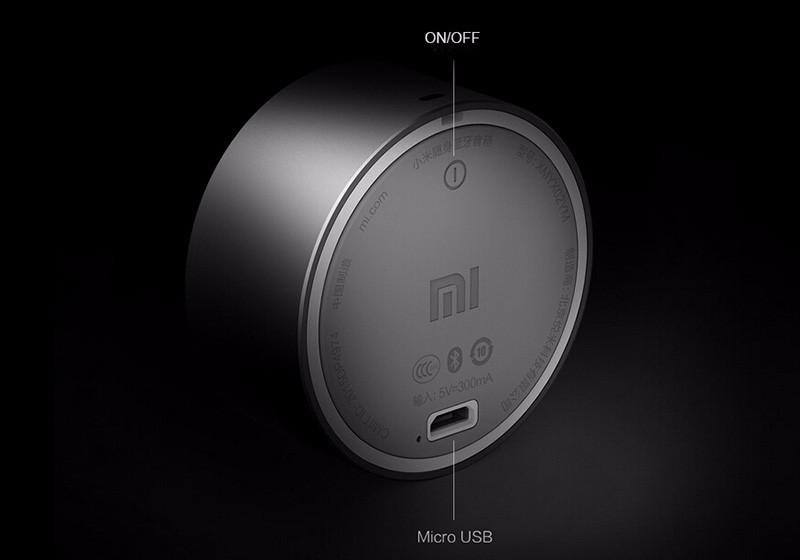 Metal Bluetooth Speaker Portable Wireless Mini Round Box Stereo HIFI Three Colors - Flickdeal.co.nz