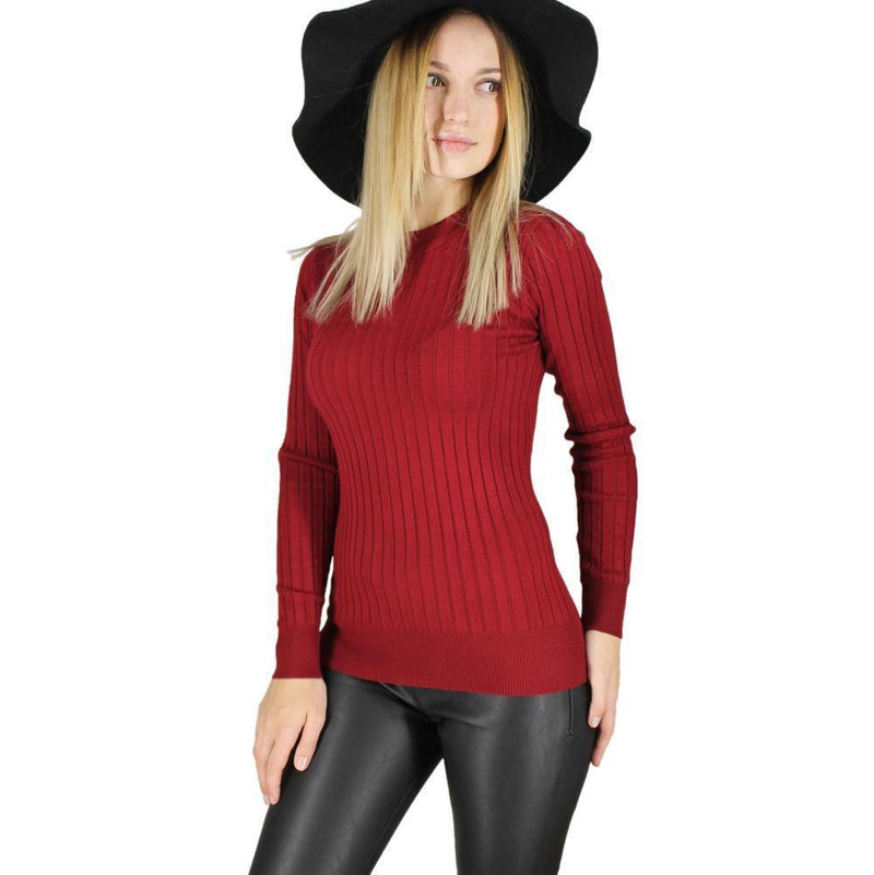 Women's Fashion Sweaters - Knitted Pullovers - 4 Colors