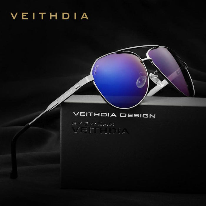 VEITHDIA Brand Best Men's Sunglasses Polarized Mirror Lens Driving Fishing Eyewear Accessories Driving Sun Glasses For Men 3562