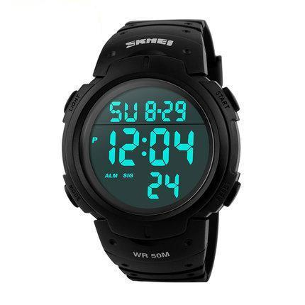 Mens Sports Watches Dive 50m Digital LED Watch for Men SP87 - Flickdeal.co.nz
