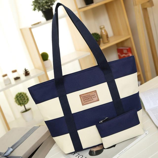 Women Beach Canvas Tote Bag Large Ladies Totes - 7 Designs