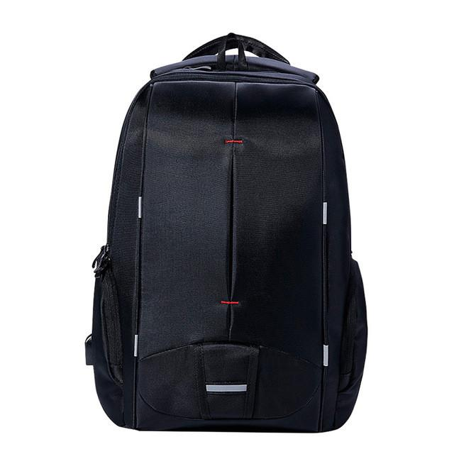 Waterproof Men Backpack USB Charging College Students Bag Laptop Backpack school bag for 13.3 to 17.3 inch - Flickdeal.co.nz