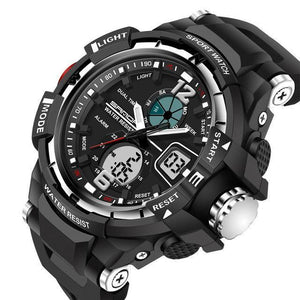 Sport Watch Men LED Digital Quartz Wrist Watches for Men Top Luxury Brand - Flickdeal.co.nz