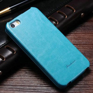 Retro PU Leather Flip Case for iPhone 5s 5 S SE Phone Bag Cases For iPhone 5 5SE Luxury - Flickdeal.co.nz