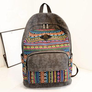 School Backpacks Canvas Women Backpacks School Bags - Flickdeal.co.nz