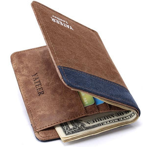 Wallet - Designer Wallet for Men with photo and card holder - W1124 - Flickdeal.co.nz