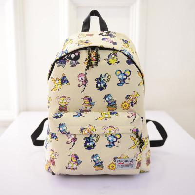 Canvas Women Backpacks School Bags for Girls Schoolbag - Flickdeal.co.nz