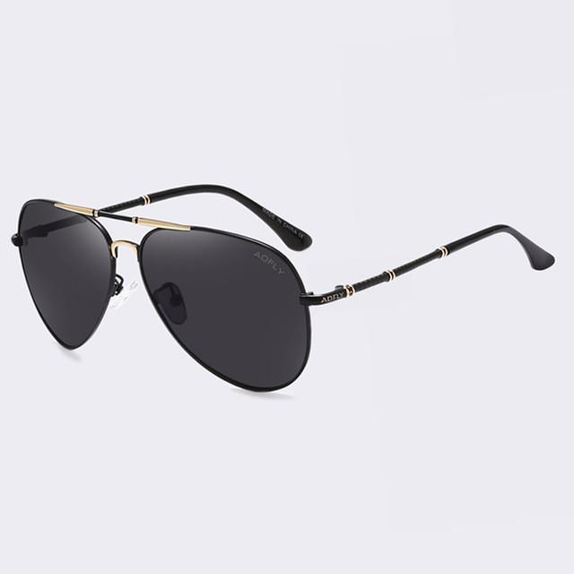AOFLY Brand Polarized Sunglasses Men Classic Designer Driving Glass AO254 - Flickdeal.co.nz