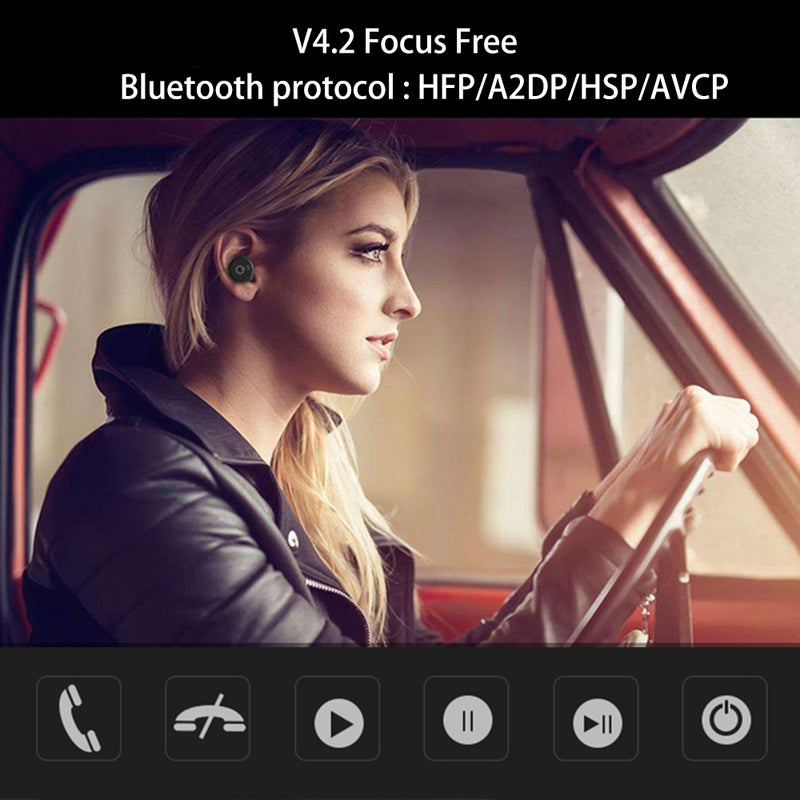 Bluetooth wireless earbuds  with charger box Bluetooth EP06 - Flickdeal.co.nz