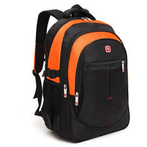 Unisex 15.6 Inch Laptop Backpacks Large Capacity Nylon Men's Women's Backpacks School college Bags - Flickdeal.co.nz