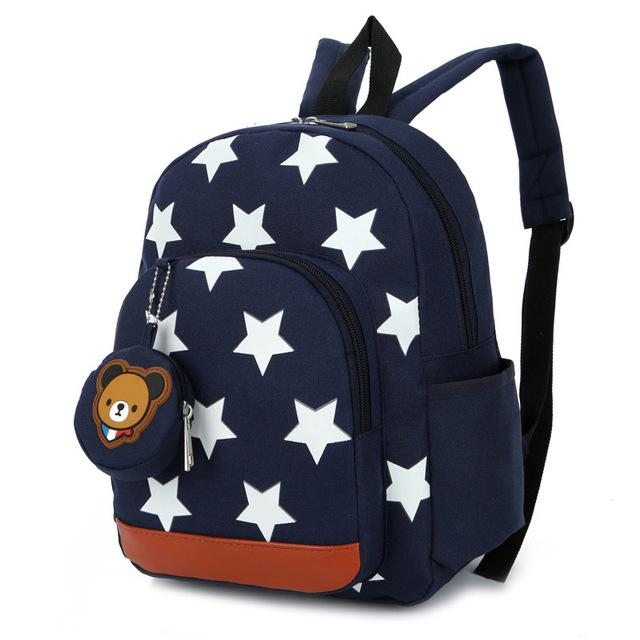 Star Children School Bags for Boys and Girls - Cute School Backpack  for Children