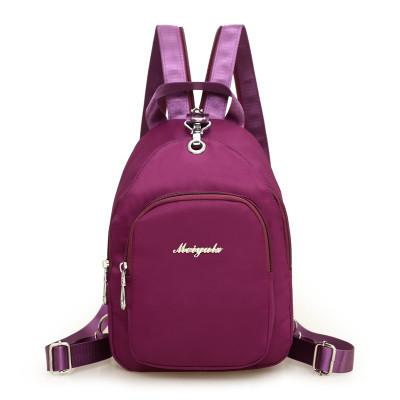 Waterproof Nylon Women Chest Bags Casual Messenger Bags Travel Shoulder Bags - Flickdeal.co.nz