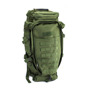 Outdoor Military Tactical Climbing Backpack Camping Hiking Rifle Bag Trekking Bag for Men and Women - Flickdeal.co.nz