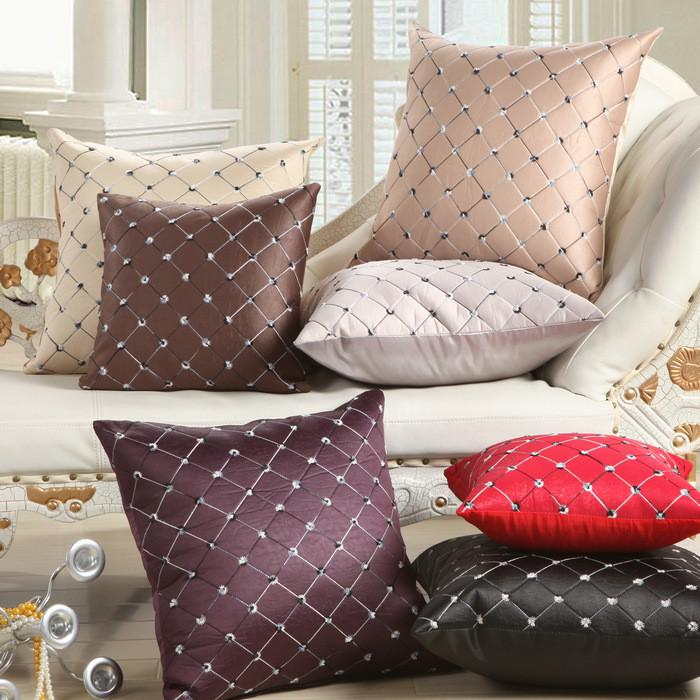 Plaids Pattern Cushion Cover Decorative Pillowcase 40116 - Flickdeal.co.nz