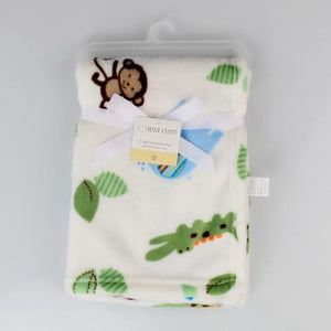 Baby Fleece Blanket Soft - 6 designs - Flickdeal.co.nz