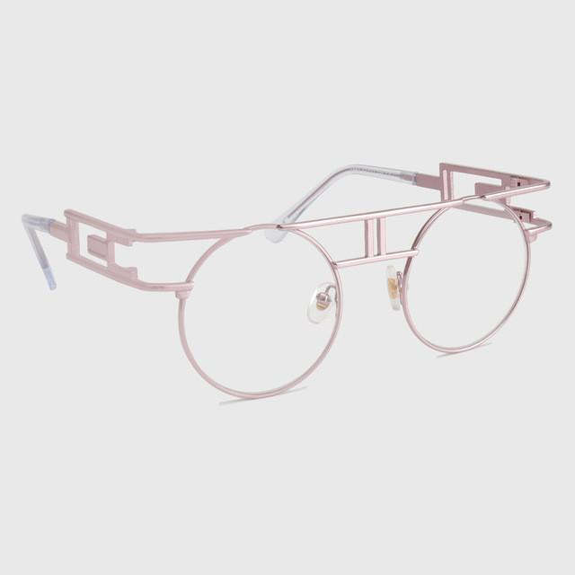 Women Sunglasses - Metal Frame Steampunk Designer Round Eyeglasses RG211 - Flickdeal.co.nz