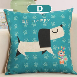 Cushion Covers - Dog Zebra Donkey Pattern Cushion Cover 40329 - Flickdeal.co.nz