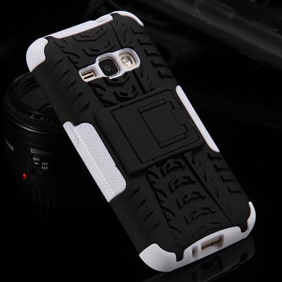 Armor Case For Samsung Galaxy With Kickstand Holder Shockproof  Cover For Samsung J1  J5  S7 S6 Edge Plus S8 S8 Plus - Flickdeal.co.nz