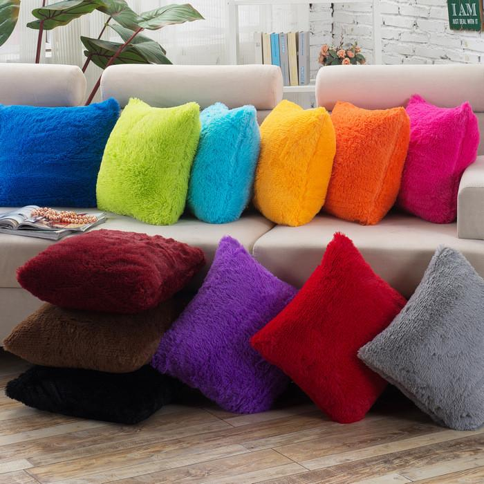 Cushion Covers - 43*43cm Classic Soft Velvet Cushion Cover 40062 - Flickdeal.co.nz