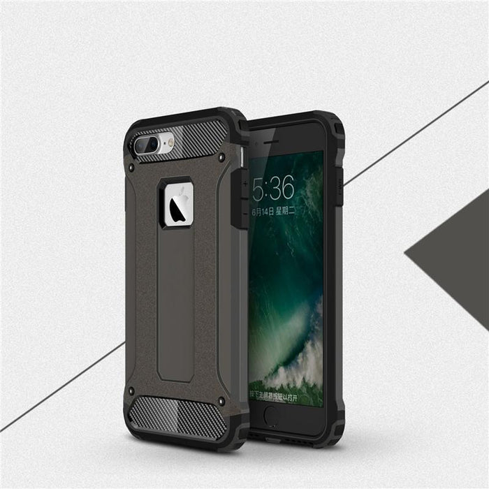Phone Cases for iphone 7 7 Plus Armor Stand Hard Rugged Impact Cover for iphone 6 Cases 6s Plus SE Case