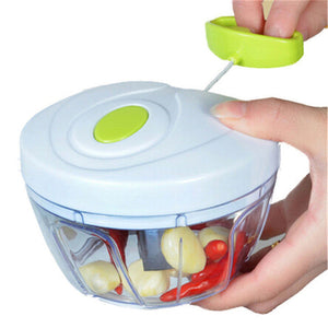 Multifunction High Speedy Chopper Garlic Cutter Vegetable Fruit Twist Shredder