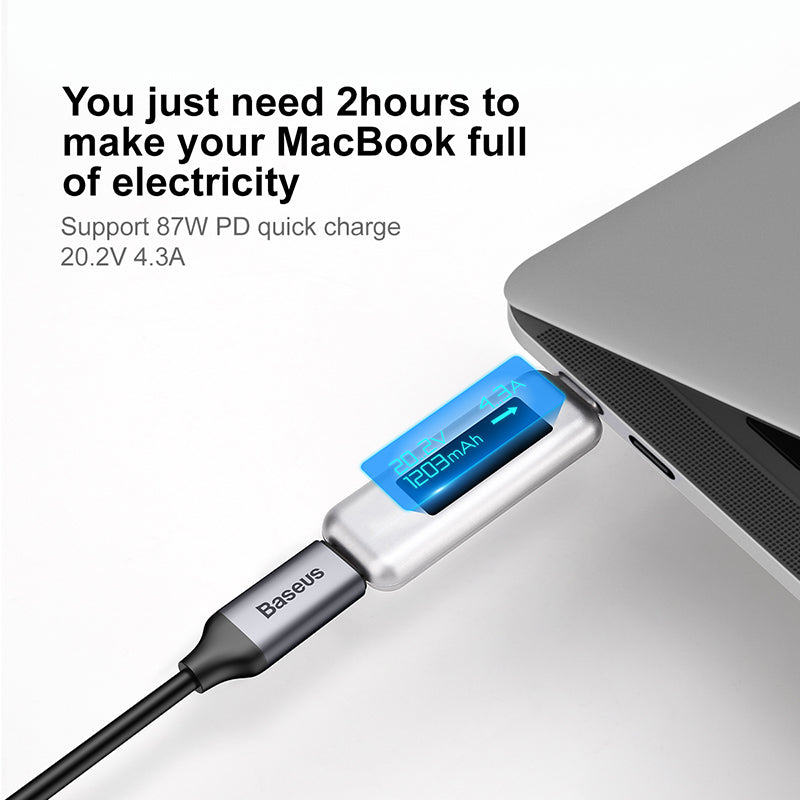 5A Quick Charge Type C 3.1 to USB C Cable For Macbook Pro Chromebook Fast Data sync Charging HD 4K Video Type-c USB Cable - Flickdeal.co.nz