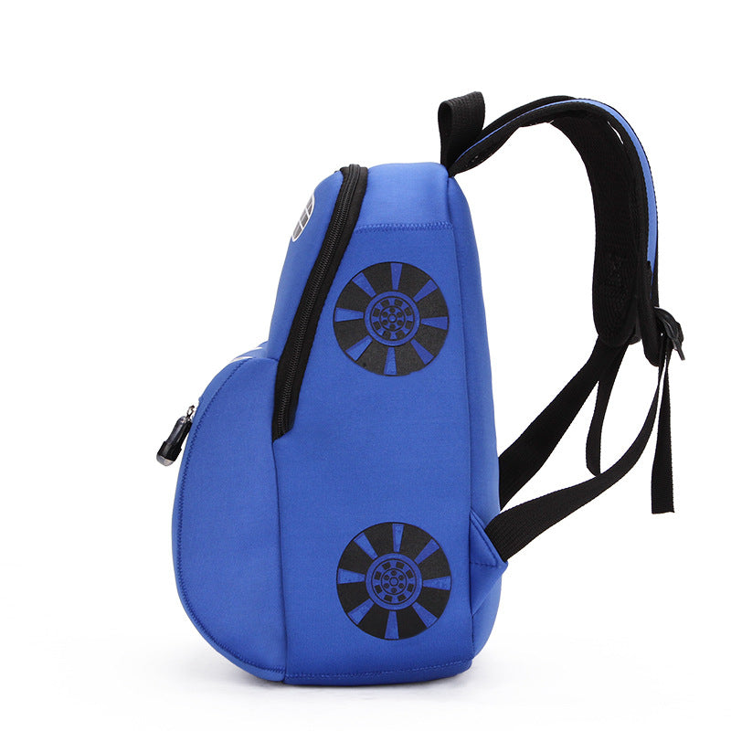 6e0a3cbfdc ... 3D Car school bags nylon children s backpacks waterproof kid s backpack  3 colors - Flickdeal.co ...