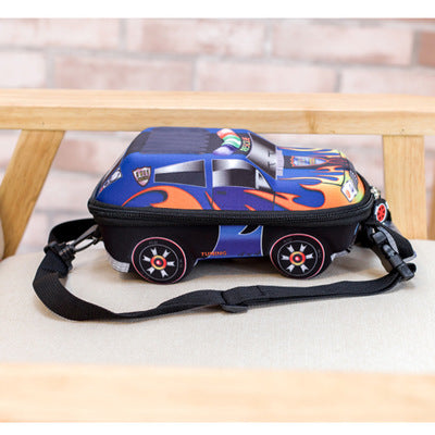 3D Car children school bags for boys lovely Toddler children's backpacks kids backpack for children - Flickdeal.co.nz