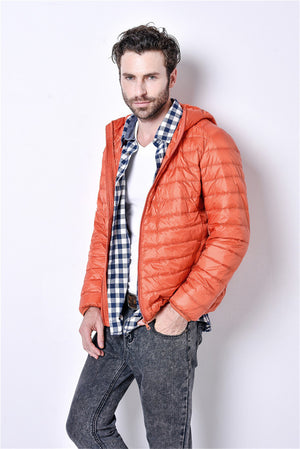 White Duck Down Jacket Men - Flickdeal.co.nz