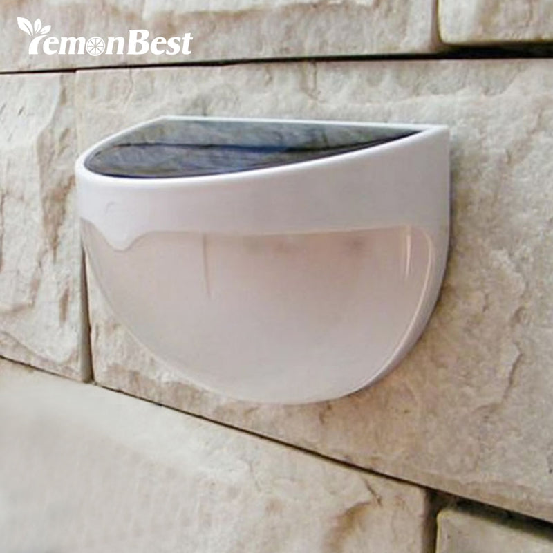 Solar LED Garden Light Wall Lamp with Sensor