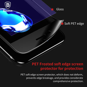 Premium Screen Protector Tempered Glass For iPhone 8 7 Plus 3D Frosted Soft Protection Full Cover Glass Film For iPhone8 - Flickdeal.co.nz