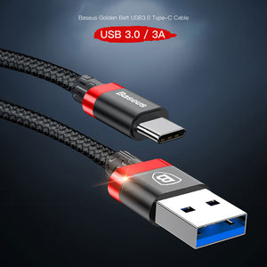 USB Type C Cable 3A Data Sync Charging USB 3.0 Type-c Cable For Oneplus 2 3 Nexus 5X 6P USB-C Charger Mobile Phone Cables - Flickdeal.co.nz