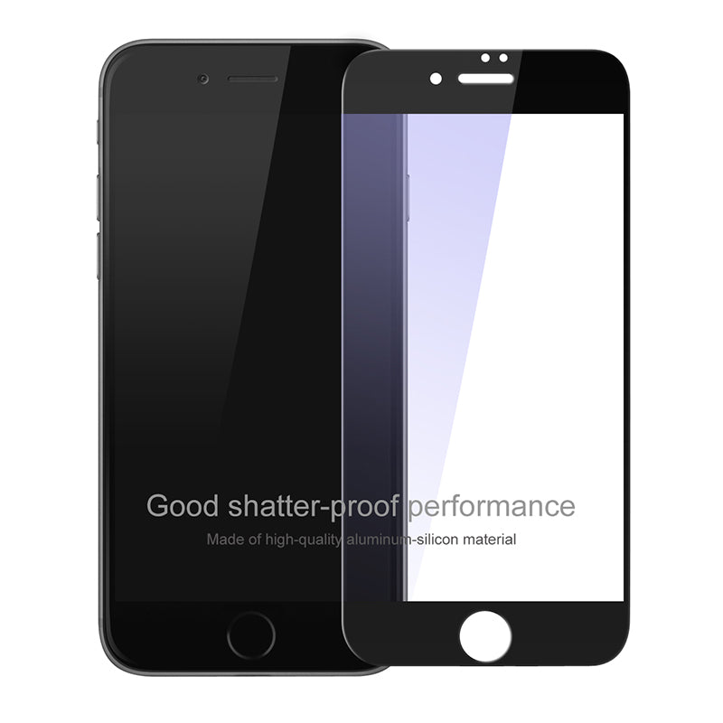 Baseus Premium 0.2mm Screen Protector Tempered Glass Film For iPhone 8 7 Plus Ultra Thin 9H Full Cover Protective Toughened Film - Flickdeal.co.nz