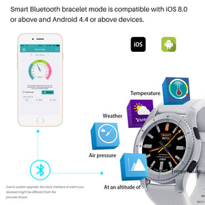 Smart Watch Bluetooth 4.0 SIM Card and Heart Rate Monitor
