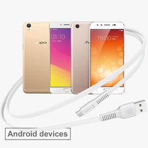 10pcs Flat Micro USB Cable For Android Phone Data Sync Charger Micro usb Cable For Samsung Huawei Xiaomi - Flickdeal.co.nz
