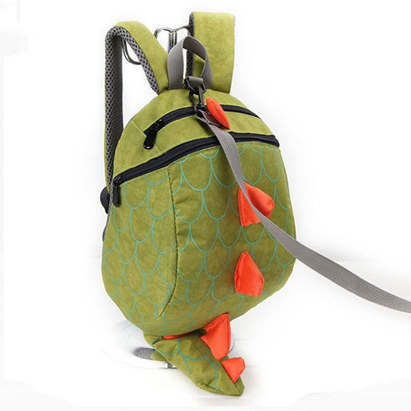 Dinosaur Anti-lost Backpack For Kids Children Backpack Aminals Cartoon Schoolbag