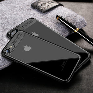 Case For iPhone 8 7 6 6s Ultra Thin Capinhas PC & TPU Silicone Cover Case For iPhone 8 7 6 s 6s Plus - Flickdeal.co.nz