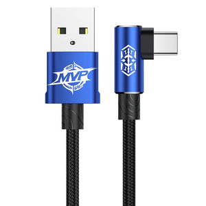 MVP Elbow USB Type C Cable 2A USB C Charger Fast Data sync Charging Type-c Cable For Samsung Note 8 S8 Oneplus 3 2 USB-C - Flickdeal.co.nz