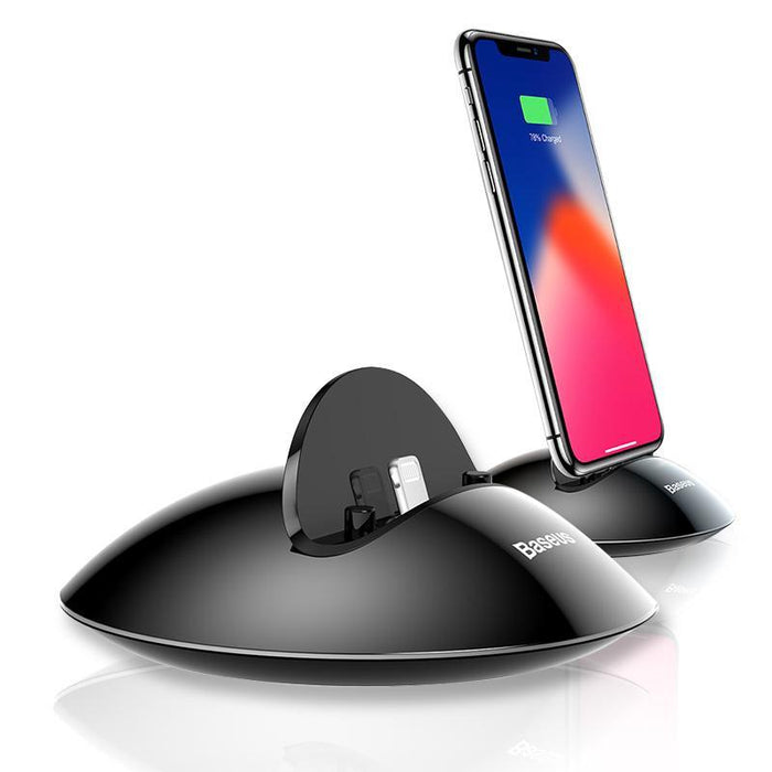Charging Dock Station For iPhone X 8 7 6 6s Plus 5 5s se Desktop Docking Station Sync Data USB Charger Charging Stand