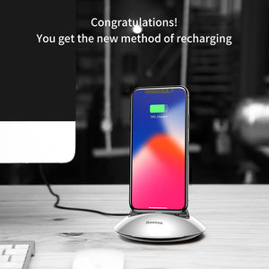 Charging Dock Station For iPhone X 8 7 6 6s Plus 5 5s se Desktop Docking Station Sync Data USB Charger Charging Stand - Flickdeal.co.nz